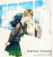 Neptune Uranus by asml30