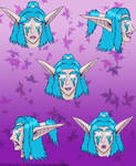 Bluestar Expressions by Arctica-Ice-Cat