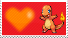 004 - Charmander by Marlenesstamps