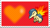155 - Cyndaquil by Marlenesstamps
