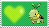 387 - Turtwig by Marlenesstamps