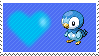 393 - Piplup by Marlenesstamps