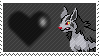 262 - Mightyena by Marlenesstamps