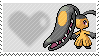 303 - Mawile by Marlenesstamps