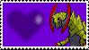 612 - Haxorus by Marlenesstamps