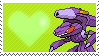 649 - Genesect by Marlenesstamps