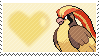 018 - Pidgeot by Marlenesstamps