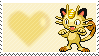 052 - Meowth by Marlenesstamps
