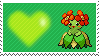 182 - Bellossom by Marlenesstamps