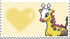203 - Girafarig by Marlenesstamps