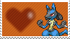 448 - Lucario by Marlenesstamps