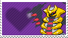 487 - Giratina Altered Forme by Marlenesstamps