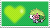 492 - Shaymin Land Forme by Marlenesstamps