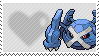 376 - Metagross by Marlenesstamps
