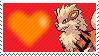 059 - Arcanine by Marlenesstamps