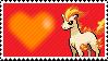 077 - Ponyta by Marlenesstamps
