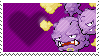 110 - Weezing by Marlenesstamps