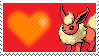 136 - Flareon by Marlenesstamps