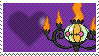 Shiny Chandelure by Marlenesstamps
