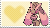 Shiny Lopunny by Marlenesstamps