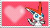 Shiny Victini by Marlenesstamps