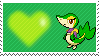 Violet The Snivy by Marlenesstamps