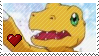 Agumon by Marlenesstamps