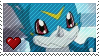 Veemon by Marlenesstamps