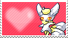 Shiny Meowstic Female by Marlenesstamps