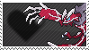 Shiny Yveltal by Marlenesstamps