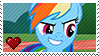 Rainbow Dash by Marlenesstamps