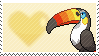 733 - Toucannon by Marlenesstamps