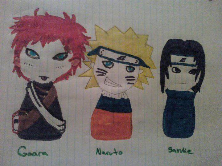 Chibi Naruto Boys By Moonlight Hour On Deviantart