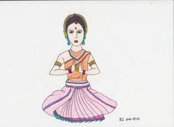Woman from India by AmericanNightmare12