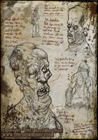 STUDY OF MEDICAL CURIOSITY by sideshowmonkey