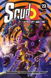 SCUD 23 cover by Hartman by sideshowmonkey