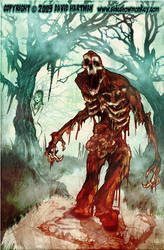 SWAMP BLOOD TERROR BY Hartman by sideshowmonkey