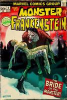 MONSTER of FRANKENSTEIN by Hartman by sideshowmonkey