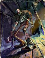 ATTIC DEAD by Hartman by sideshowmonkey