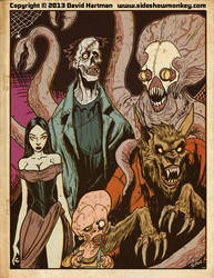 MONSTER PAGE by Hartman by sideshowmonkey
