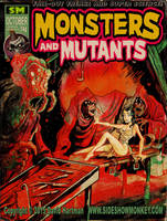 MONSTERS and MUTANTS by Hartman by sideshowmonkey