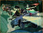 DRAGRACE HOLLOW by Hartman by sideshowmonkey