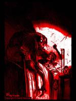 BLOOD by David Hartman by sideshowmonkey