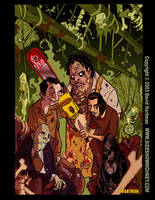 TEXAS BLOOD by David Hartman by sideshowmonkey