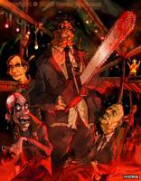 TEXAS BLOOD 2 by Hartman by sideshowmonkey