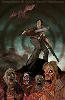 EVIL DEAD by Hartman by sideshowmonkey