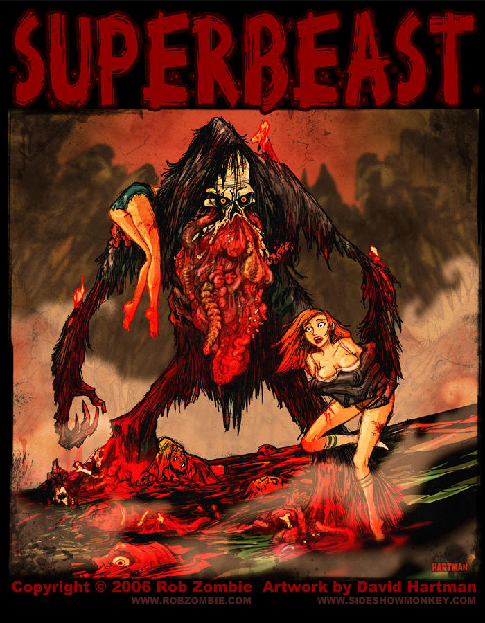 SUPERBEAST by Hartman by sideshowmonkey