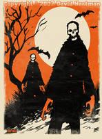 ORANGE DEATH by Hartman by sideshowmonkey