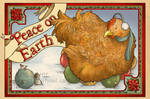 Holiday Cards 2011 - Chicken Christmas by Tatter-Hood
