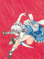 Sakuya Izayoi by Banzatou